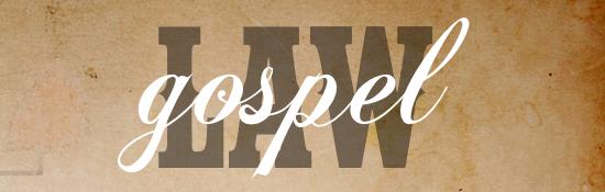 law-gospel